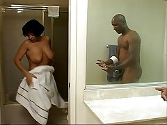 Grown up Bambi Gets Fucked Hard Probe Showering