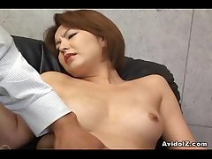 Japanese tot gets her haiy pussy fingered Uncensored