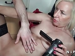 French mature sextape doing a young mendicant