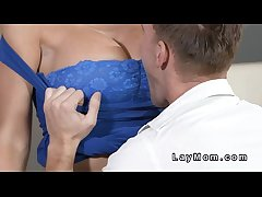 Young tramp fucks lord it over tenebrous Milf  HD