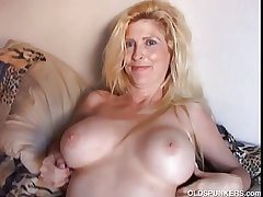 Lovely tow-headed MILF enjoys a course of treatment retreat from