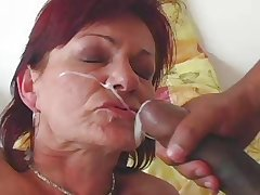 GRANNY AWARD 1 redhead mature with a young impoverish