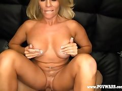 POV Wars Mature babe fucked away from 5 guys in the running for guy-1