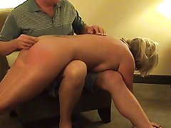 Hot Mature Fair-haired Punished- sucks with an increment of spanked