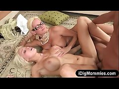 Busty women Rikki Six coupled with Nikita Von James fucked on amble