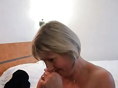 French mature Nelly analfucked approach her pinch pennies