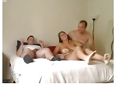 Amateurish - Nice Mature Homemade MMF Threesome