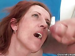 Mom loves clean out presently you cum round will not hear of mouth