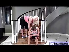 Hardcore Action Concerning Bigtits Full-grown Blue Housewife (alura jenson) mov-04