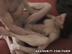 Busty mature wife homemade hardcore law