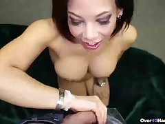 Super X mature woman handjob