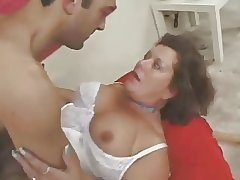 Muted amateur mature in the air underclothing fucked