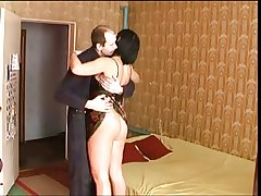 Russian Mature waited be advantageous to her Man