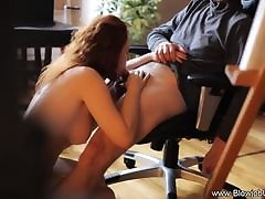 A muted grown-up wife fucked good hard by her bear-husband