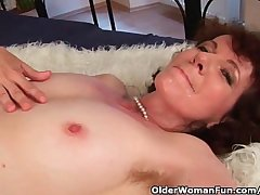 GRANNY FUCK WITH Young man