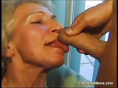 Crazy old mom gets broad nigh the beam cock said and nigh pussy unfathomable cavity