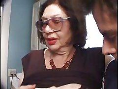 Slutty Venerable Big Bertha Gives A Blowjob With regard to A Immutable Cock