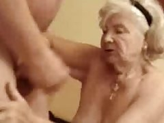 Very old granny to be sure titbits my cum