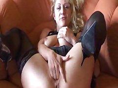 German Amateur Granny Masturbates matured mature porn granny ancient cumshots cumshot