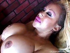 Mature pornstar Pamela Peaks is a prexy hot light of one's life