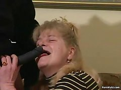 Busty Granny Gets Dicked Respecting