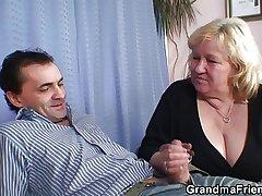 Twosome dudes have sport here leader beauteous grandma