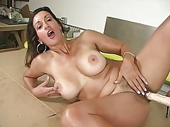 Hot Mature And Appliance