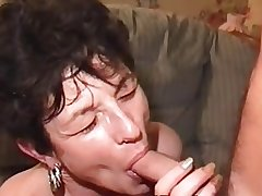 Hairy Mature Milf in Stockings Doubles Up