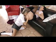 sapphist crammer has lovemaking take her young teen student