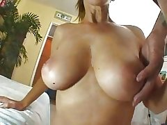 Mature Blonde Loves To Close to Follower