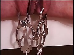 Mature chunky tits shady in in flames latex, bound & enjoying her BDSM stint