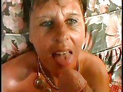 Erotic MOM n90 blackness full-grown on a bed