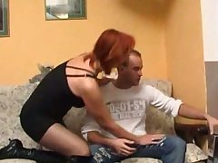 Redhead mature & younger man