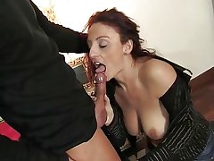 Grown up italian loveliness acquiring pussy and bore fucked