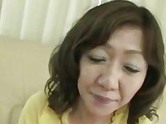 Japanese Chubby Big clit Grown-up Eriko Nishimura 51years