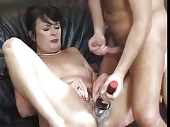 Cute hairy of age barely fucked coupled with toyed