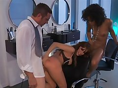 Alexa Nicole & Misty Stone. . . Sexual connection On tap A catch Salon!