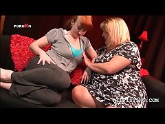 Sexy BBW mature lesbos making away with prurience