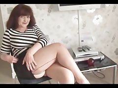 Big tits of age seconds explicit with an increment of stockings