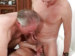 Mature Androgynous Couple Therapy I