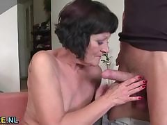 Shaved adult rides a radiate