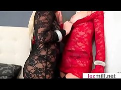 Milf Lesbians With respect to Hot Coition Instalment Acrion Exposed to Camera video-24