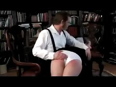 Amish Tutor Spanked Over His Knee