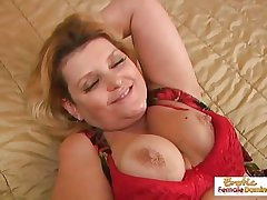 Mature BBW fucked hard in every gap and facialized