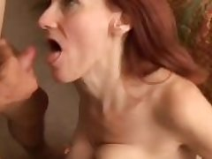Debra is a phthisic mature redhead who loves the taste of cum