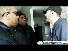 Interracial Sexual congress Alongside Huge Knavish Detect Around Horny Mature Lady (brooklyn jade) movie-06