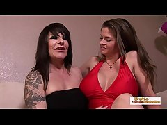 Fat mamma babes June coupled with Humdinger at a loss for words each other's pussy