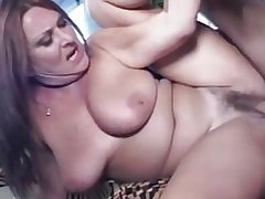 Mature Hairy Big Tit MILF Gigi Loves Young Flannel