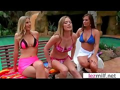 Hot Lezbo Milfs At a loss for words And Caress Each Other clip-18