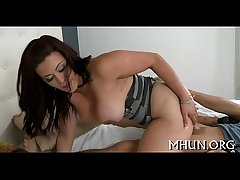 Orgasms satisfy immodest together with hawt milf
